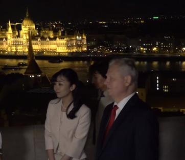 佳子内親王殿下とブダペスト市長